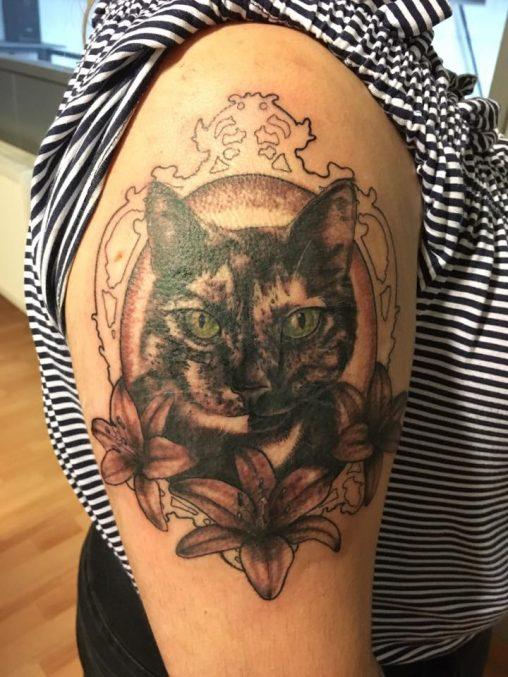 Portret Tattoo Aw Tattoo
